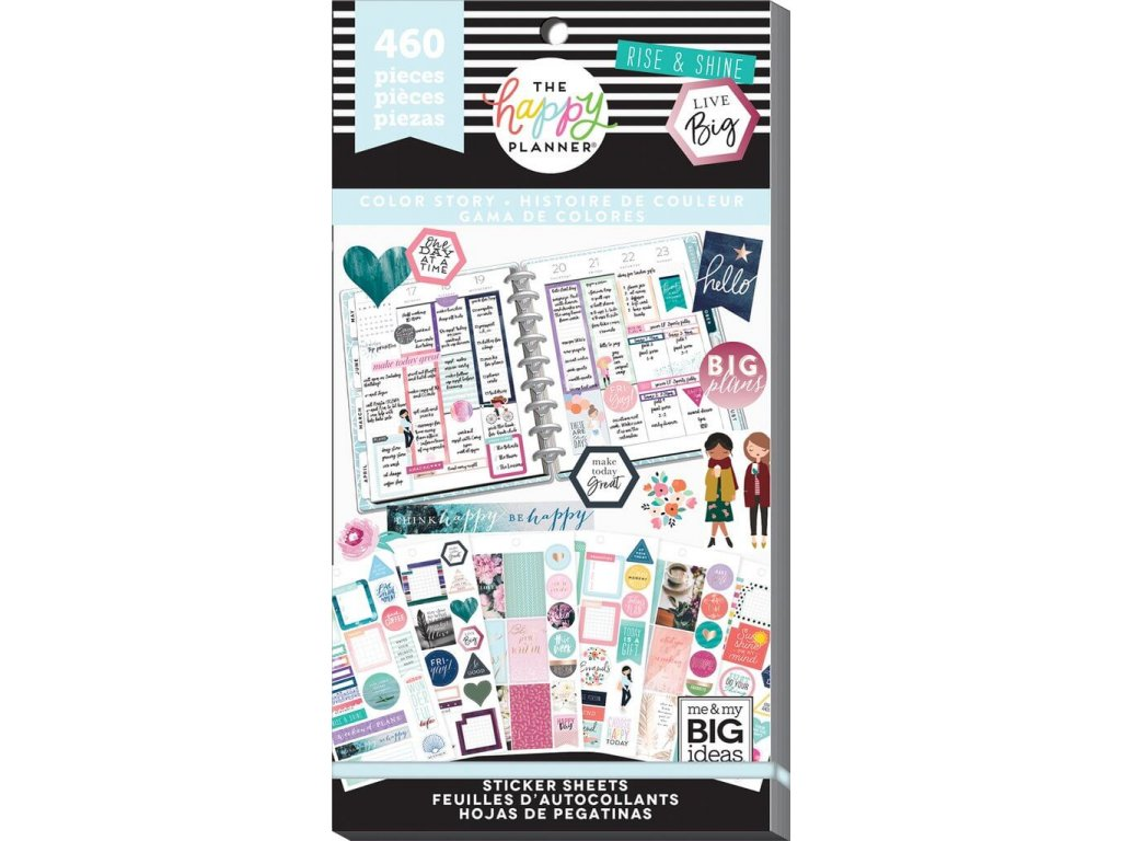 Samolepky Happy Planner Value Pack - Color Story 2