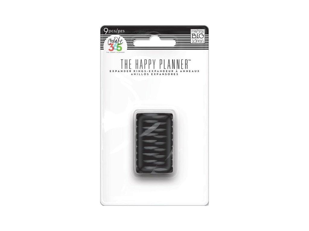 Spojovací disky do diáře Happy Planner 1,9 cm - Black