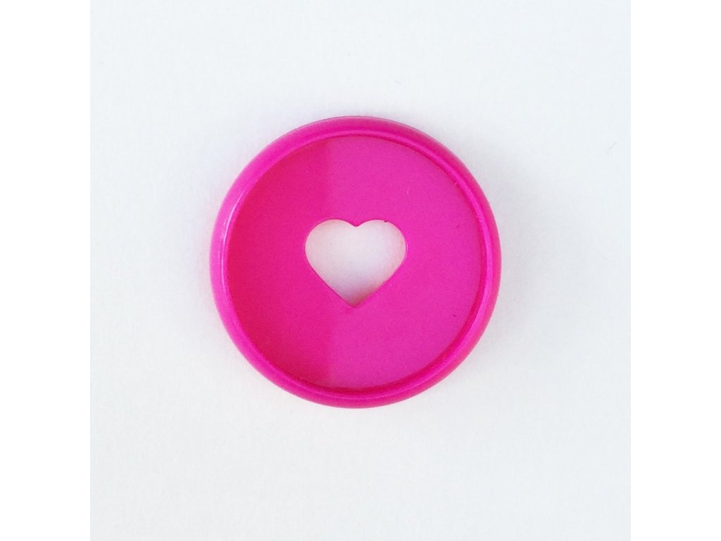 Spojovací disky do diáře Happy Planner 1,9 cm - Hot Pink