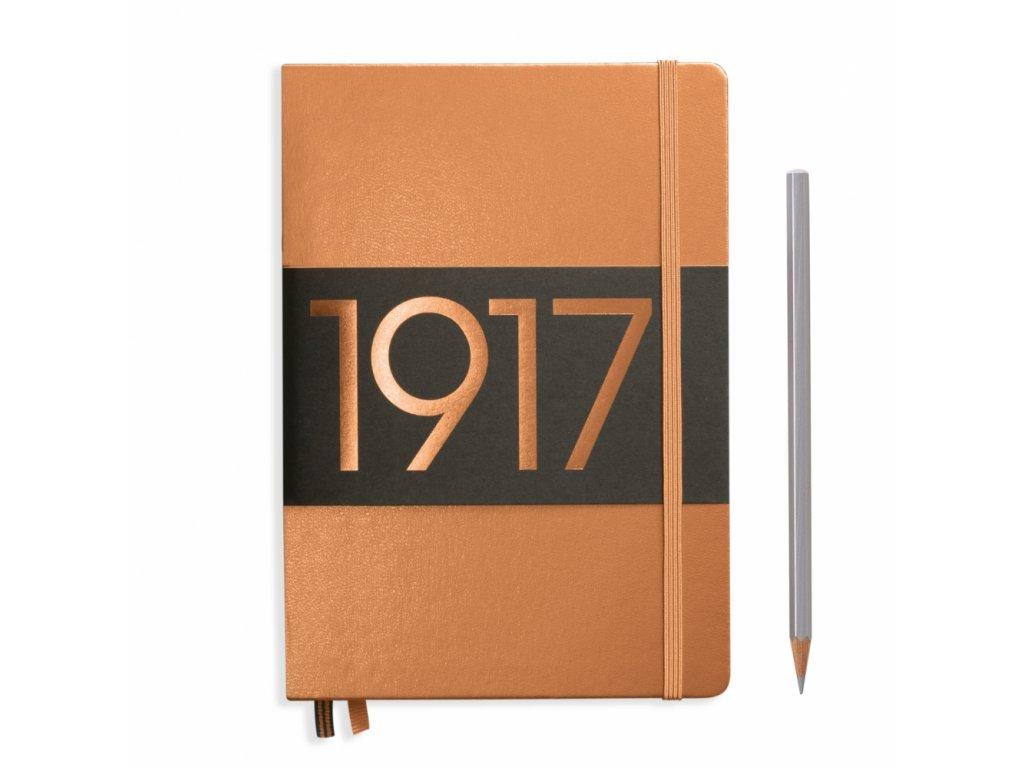 Zápisník Leuchtturm1917 A5 - Metallic Copper