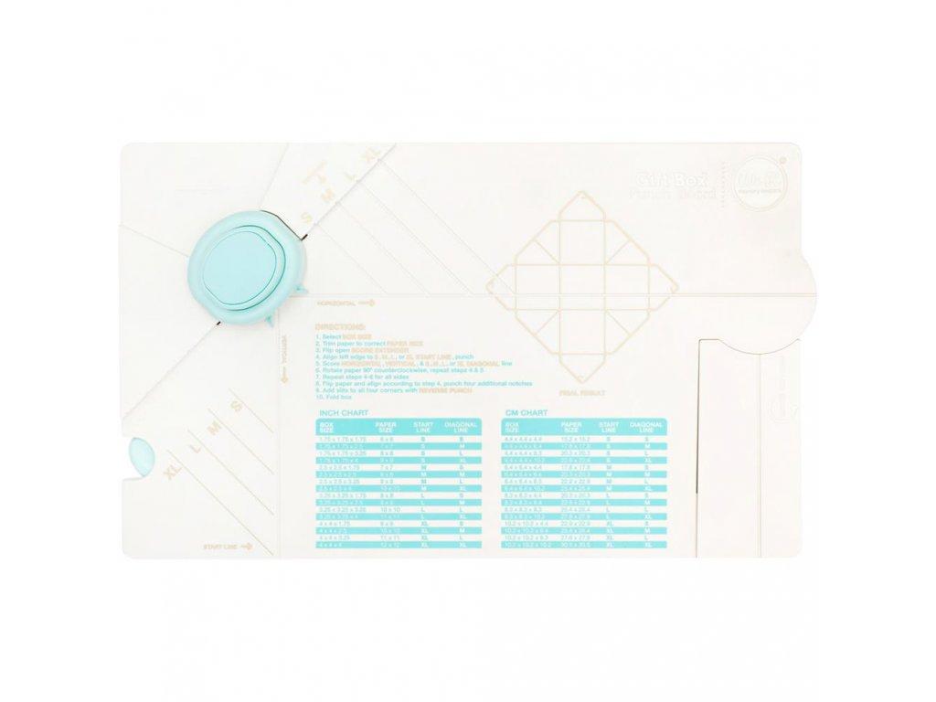 Pomůcka pro tvoření dárkových krabiček We R Memory Keepers