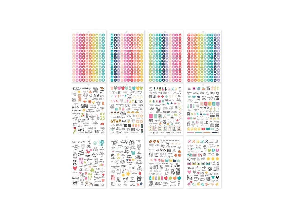 Samolepky Carpe Diem - Calendar