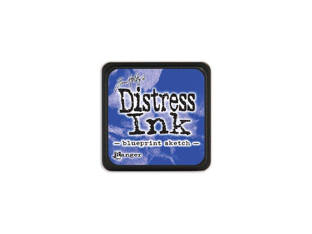 Razítkovací polštářek Distress Mini - Blueprint Sketch