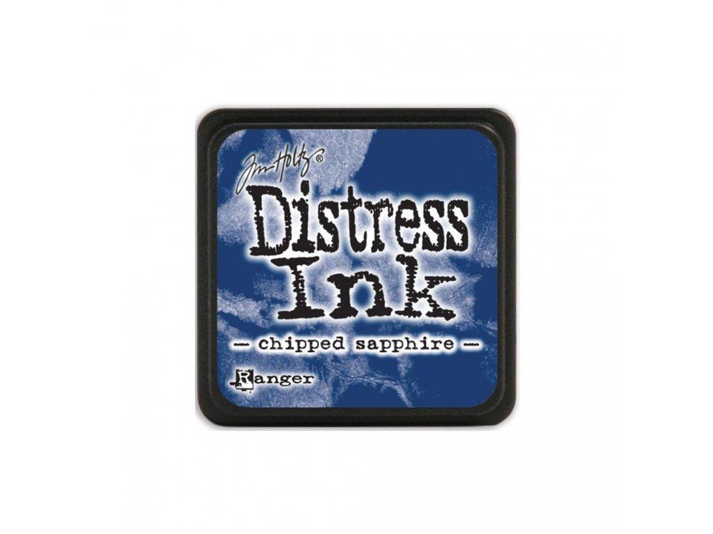 Razítkovací polštářek Distress Mini - Chipped Sapphire