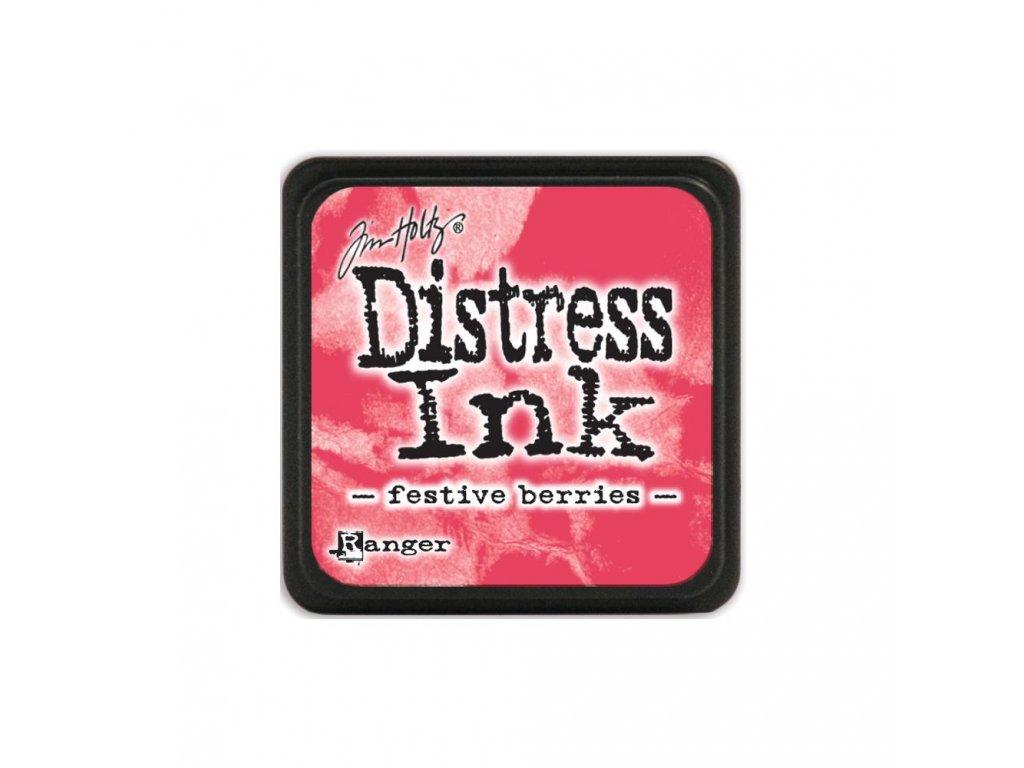 Razítkovací polštářek Distress Mini - Festive Berries