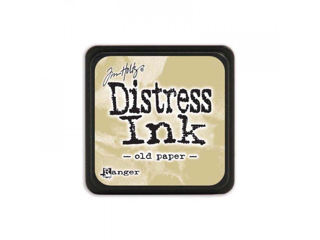 Razítkovací polštářek Distress Mini - Old Paper