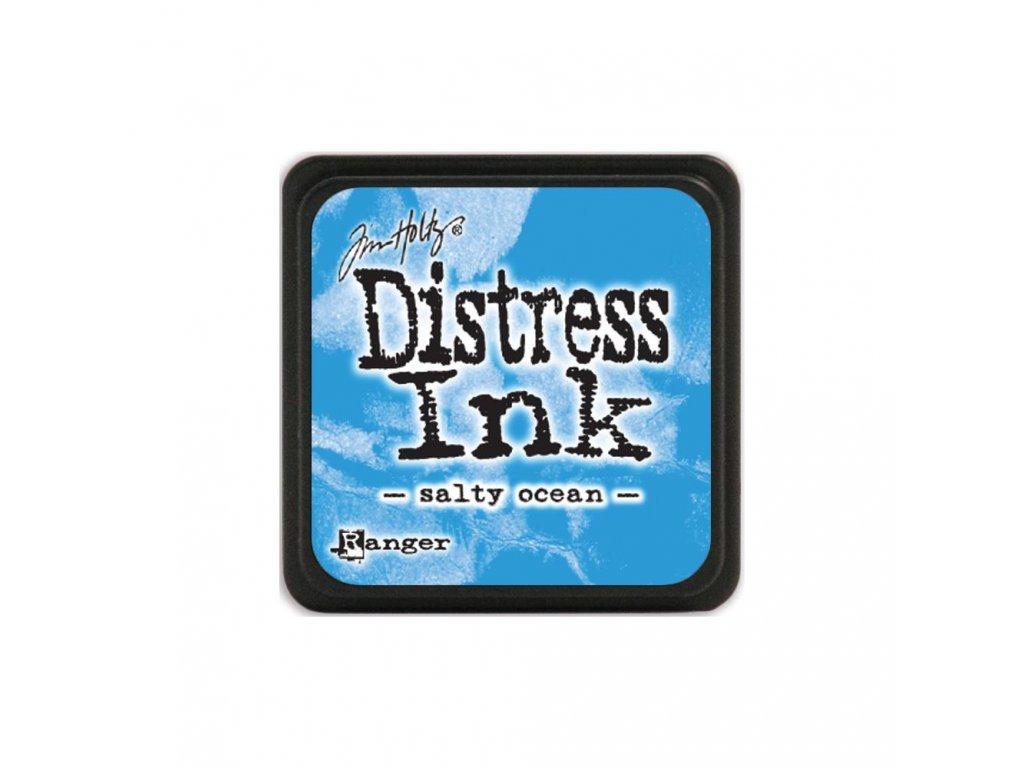 Razítkovací polštářek Distress Mini - Salty Ocean