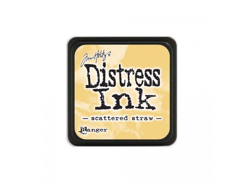 Razítkovací polštářek Distress Mini - Scattered Straw