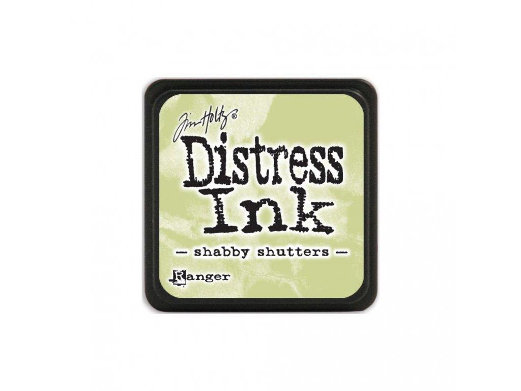 Razítkovací polštářek Distress Mini - Shabby Shutters