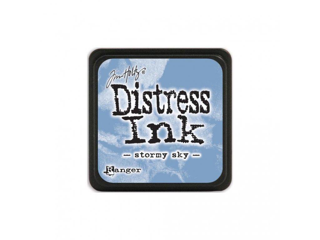 Razítkovací polštářek Distress Mini - Stormy Sky