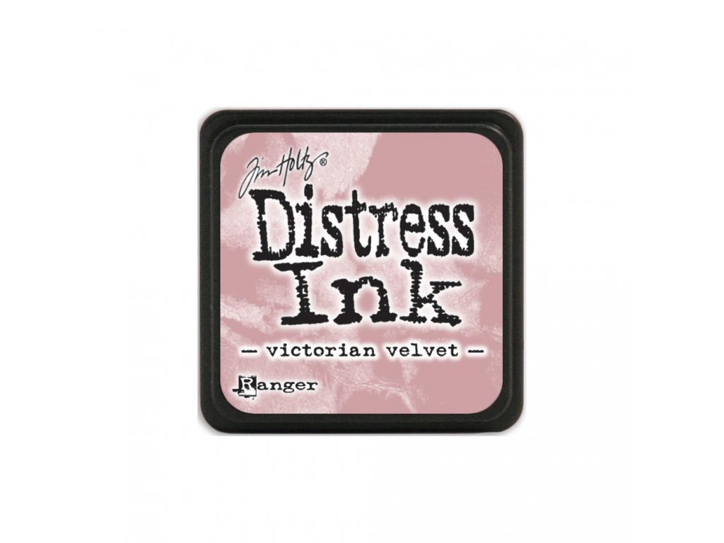 Razítkovací polštářek Distress Mini - Victorian Velvet
