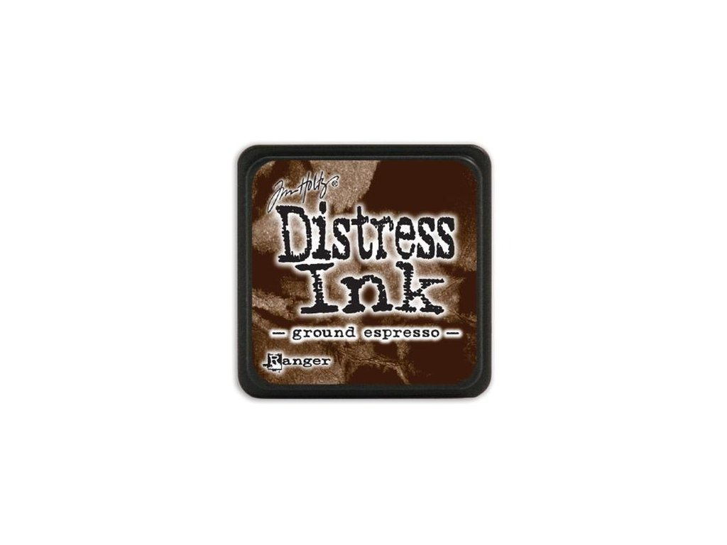 Razítkovací polštářek Distress Mini - Ground Espresso