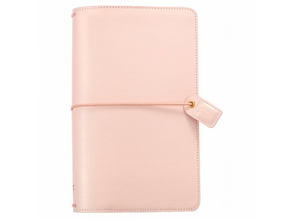 Cestovní deník Webster's pages: Blush Pink