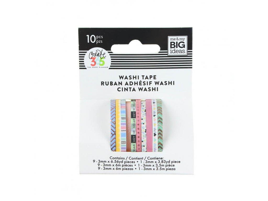 Washi pásky Happy Planner Pastel
