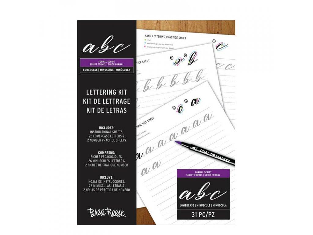 Cvičné listy na krasopis Brea Reese malá písmena