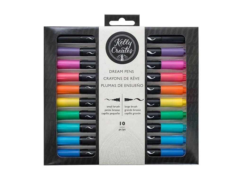 štětcové fixy kelly creates dream pen 1