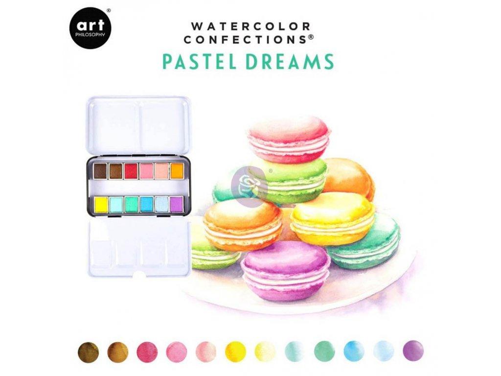 Akvarelové barvy Art Philosophy - Pastel Dream, sada 12 ks