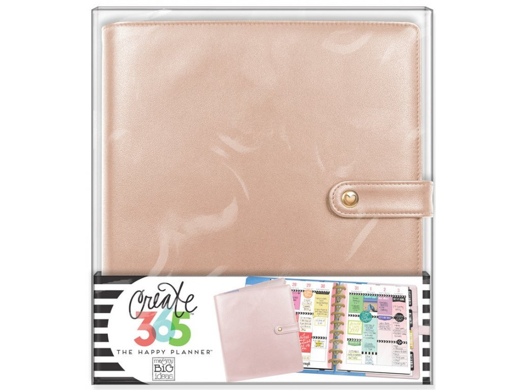 Obal na diář Happy Planner CLASSIC - Rose Gold