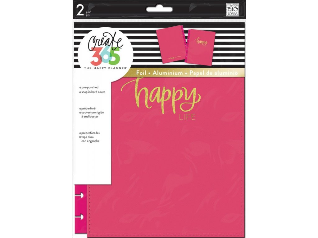 Desky na diář Happy Planner CLASSIC - Happy Life