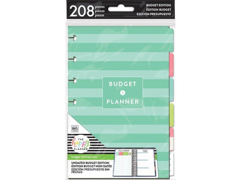 Rozšíření do diáře Happy Planner MINI - Budget ll