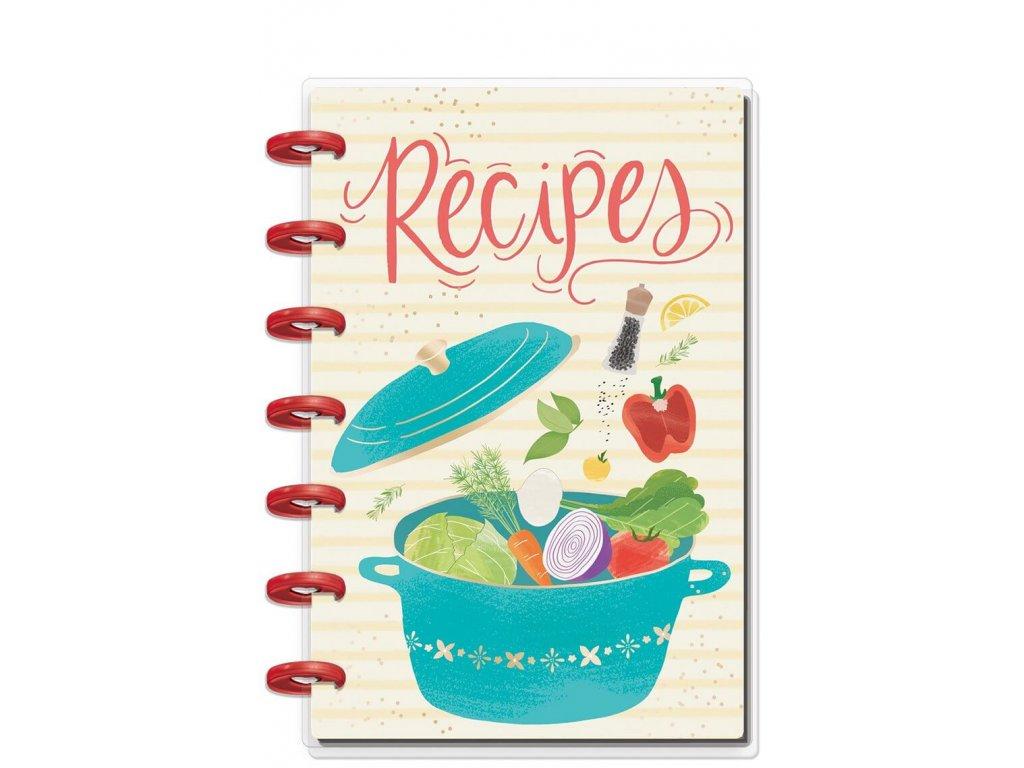 Zápisník na recepty Happy Planner MINI Foodie