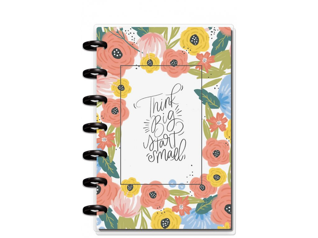 Zápisník Happy Notes MINI - Think Big