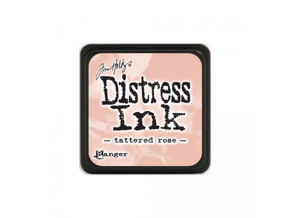 Razítkovací polštářek Distress Mini - Tattered Rose