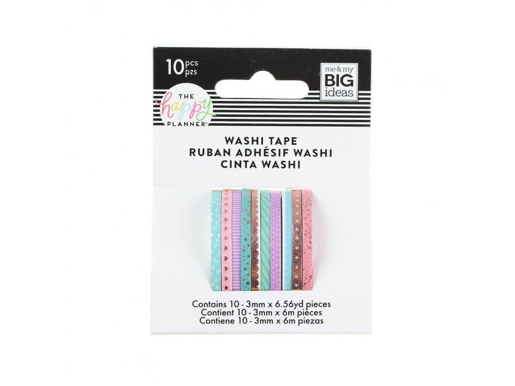 Washi pásky Happy Planner Pastelové