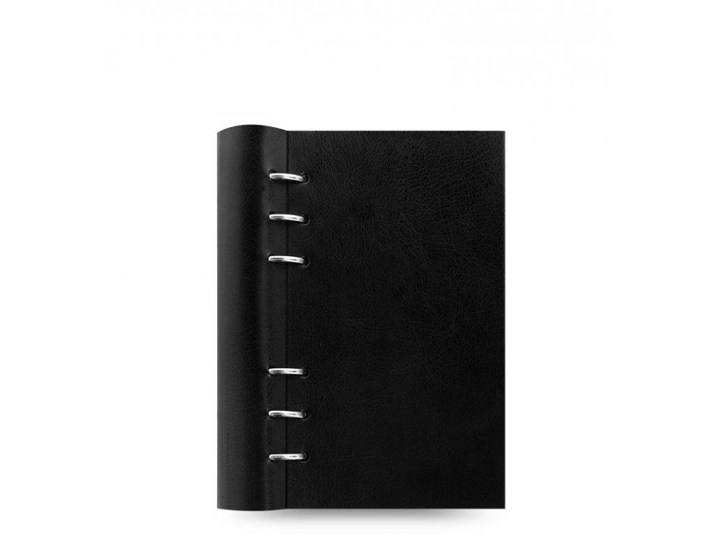 Poznámkový blok Filofax Clipbook Classic osobní - černá