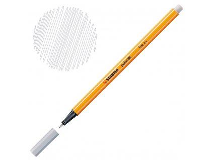Liner Stabilo Point 88 - šedá