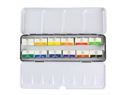 akvarelové barvy mungyo sada 12 ks velká