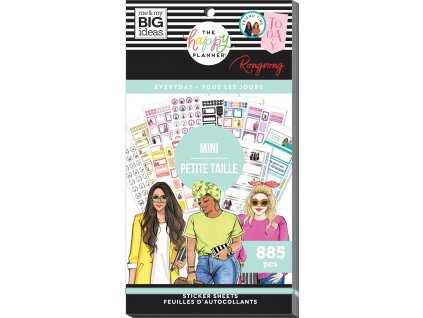 Samolepky Happy Planner MINI Value Pack Rongrong Everyday