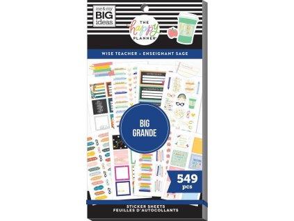 Samolepky Happy Planner BIG Value Pack Wise Teacher