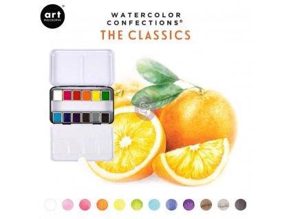 akvarelove barvy art philosophy classic sada 12ks