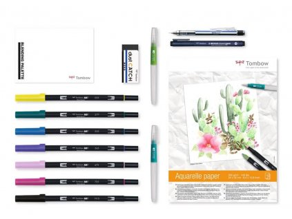 Kreativní sada Tombow pro akvarel Home Set Watercoloring
