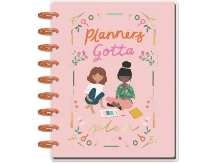 Diář 2020 2021 Happy Planner CLASSIC Squad Goals