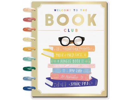 Diář 2020 2021 Happy Planner CLASSIC Bookish