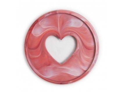 Spojovací disky do diáře Happy Planner 4,4 cm Rosewood Marble