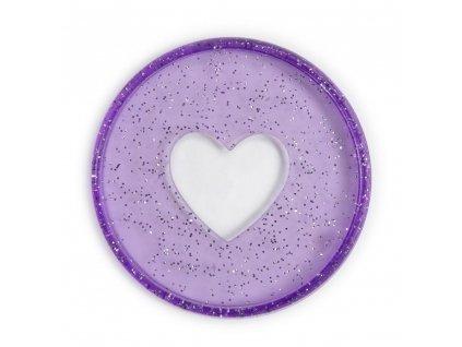 Spojovací disky do diáře Happy Planner 4,4 cm Glitter Grape