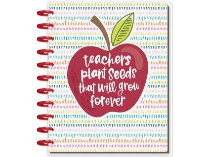 Nedatovaný diář Happy Planner BIG Teacher's Plant Seeds (1)
