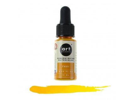 akvarelová barva tekutá art philosophy taxi
