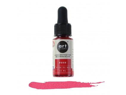 akvarelová barva tekutá art philosophy rose
