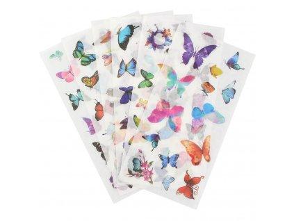 Samolepky motýlí