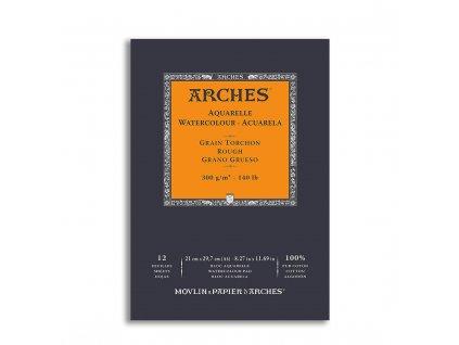 Skicák bavlněný akvarel Arches rough A4