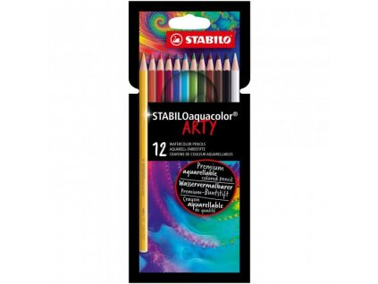 akvarelové pastelky Stabilo Aquacolor 12 ks