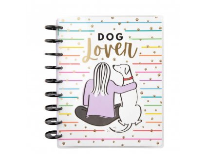 Diář 2021 Happy Planner CLASSIC Dog Lover