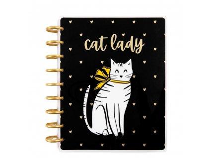 Diář 2021 Happy Planner CLASSIC Cat Lady