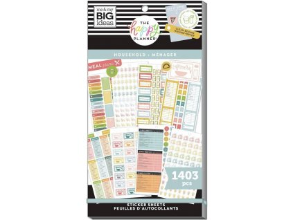 Samolepky Happy Planner Value Pack Daily Chores