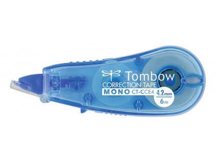 Korekční strojek Tombow MONO CCE4, š. 4,2 mm modrá
