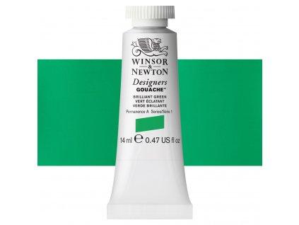 kvasova barva winsor newton brilliant green